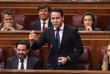 García Egea exige a Sánchez que se marche si va a delegar la gestión del estado de alarma en las CCAA