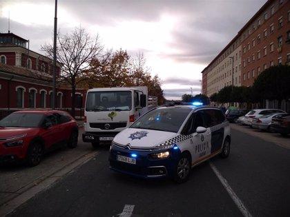 Detenido por la sustracción de un camión de la limpieza de Logroño