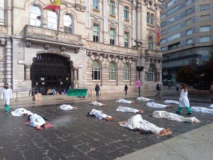 """Extinction Rebellion llama a la desobediencia civil del 1 al 6 de noviembre porque """"la inacción climática supone morir"""""""