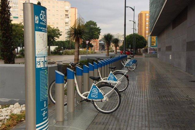 Bicicleta, alquiler, bici, emt, ayuntamiento, estación, aparcamiento