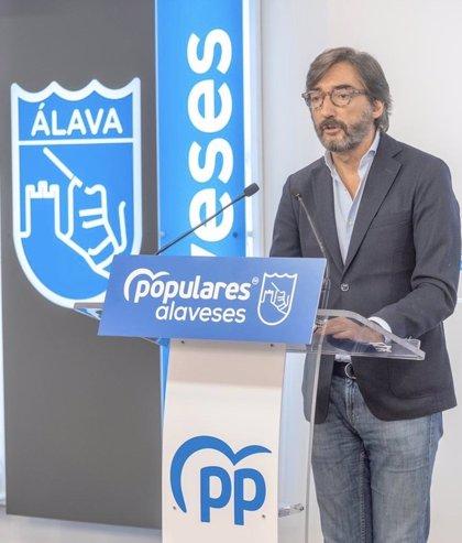 """PP propone """"flexibilizar"""" las restricciones en los pueblos de Álava limítrofes con otras autonomías"""