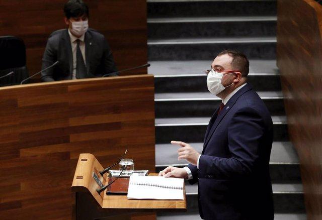 Debate.- Barbón ofrece a la oposición negociar a la vez el presupuesto y el mapa de estrategias del Gobierno