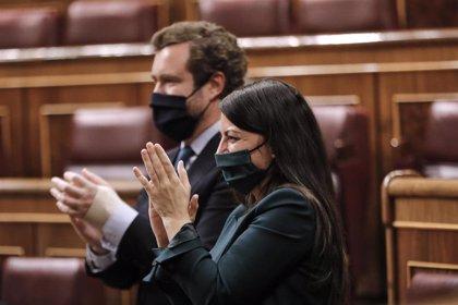 """Vox carga contra el PP por llamarle """"extrema derecha"""" y se proclama """"única oposición"""" en el """"Congreso de las focas"""""""