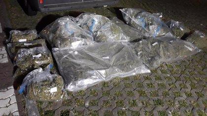 Detenidas cuatro personas pertenecientes a una organización criminal dedicada al tráfico de droga en Irun y Villabona
