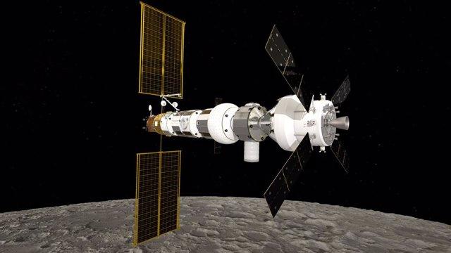Astronautas europeos trabajarán en la estación orbital lunar Gateway