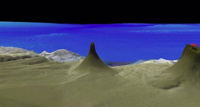 Se descubre un arrecife de coral de 500 metros de altura