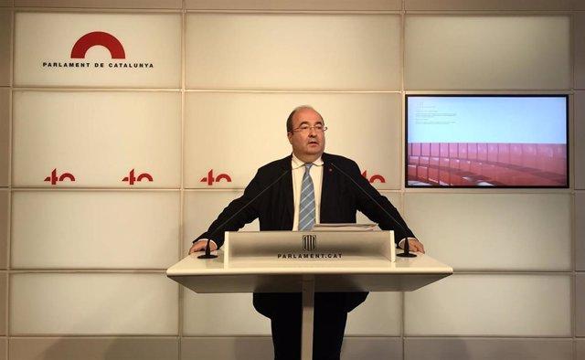 El secretario primero del PSC, Miquel Iceta