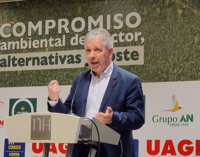 Félix Bariain, presidente de UAGN