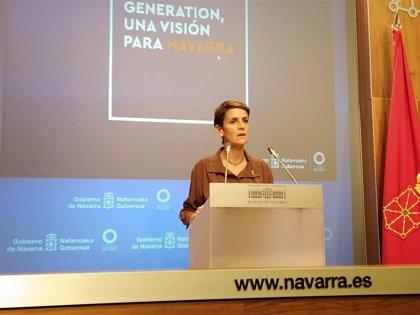 Chivite dice que la decisión de abrir o no la hostelería en Navarra se tomará en función de la situación epidemiológica