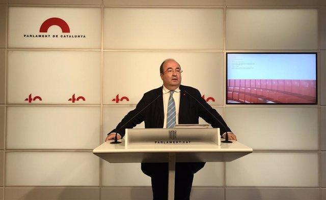El secretari primer del PSC, Miquel Iceta
