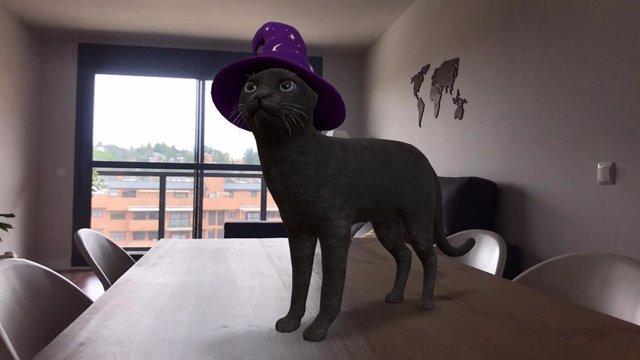 Gatos negros, fantasmas y esqueletos: Google añade nuevos animales y objetos 3D