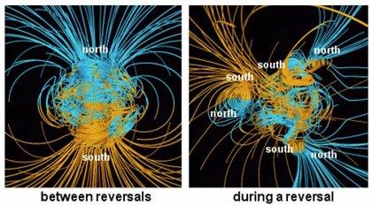 La última reversión magnética de la Tierra se prolongó 20.000 años