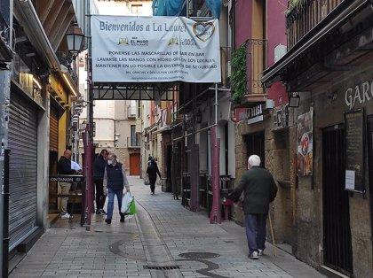 """Hosteleros de Logroño: """"El cierre de un mes no es la solución, porque ya se vio antes"""""""