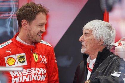 Ecclestone revela que intercedió por Vettel ante Aston Martin
