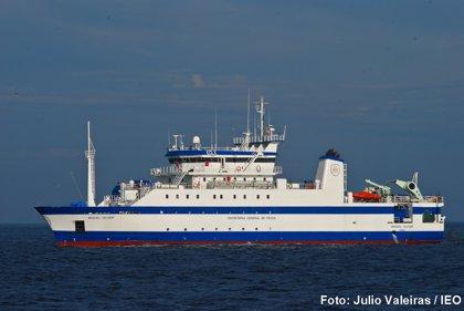 El buque 'Miguel Oliver' evaluará los recursos pesqueros y el medio marítimo del Golfo de Cádiz