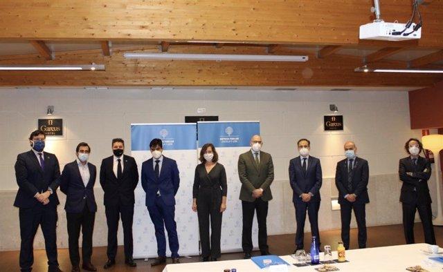 La familia Clemente Zárate, de Aciturri, Premio Familia Empresaria de Castilla y León 2020.