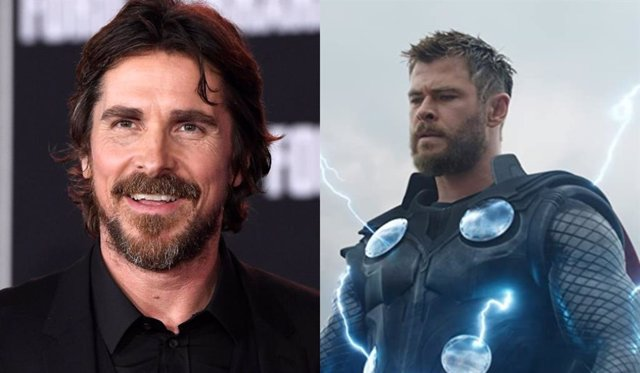 Christian Bale llega a Australia para rodar Thor: Love and Thunder