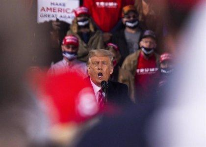 """La web de la campaña de Trump, víctima de un 'hackeo' para reducir la participación: """"Los ciudadanos no tienen elección"""""""