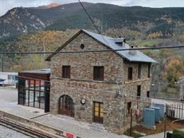 Estación de Queralbs (Girona).