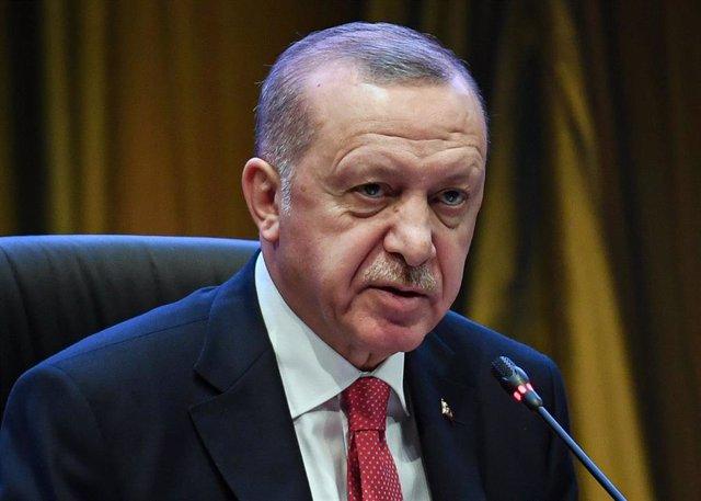 Recep Tayyip Erdogan, en una comparecencia en Kuala Lumpur