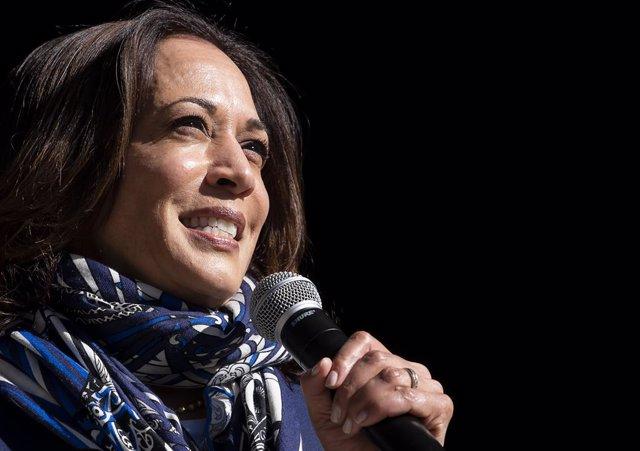La candidata demòcrata a la vicepresidència, Kamala Harris