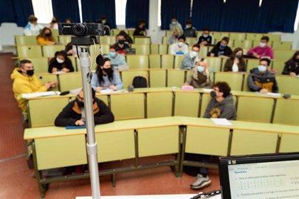 La Universidad de Málaga mantiene una actividad docente presencial de casi un 42% de media en el primer mes de clases