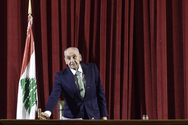 Líbano.- El presidente del Parlamento de Líbano dice que el nuevo Gobierno podrí