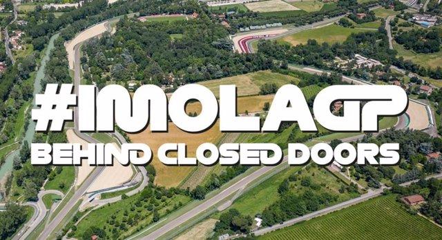 La carrera en Imola se disputará a puerta cerrada