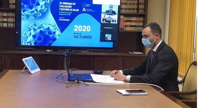 """Alfredo González Gómez participa en la inauguración de las """"XV Jornadas de Evaluación y Gestión en Salud"""""""
