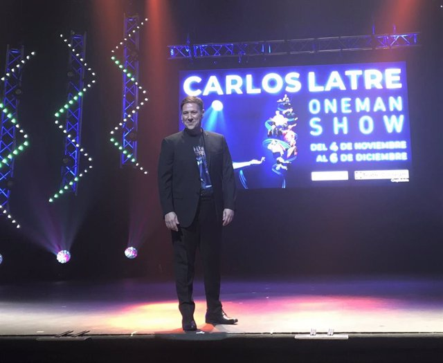 L'humorista Carlos Latre presenta 'One Man Show' al Teatre Coliseum de Barcelona