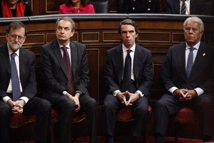 El Gobierno reserva 75.000 euros en 2021 para cada expresidente: Rajoy, Zapatero, Aznar y González