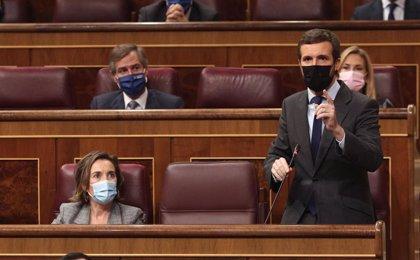 El PP se abstendrá en la prórroga del estado de alarma y denunciará ante la UE que Sánchez eluda al Parlamento