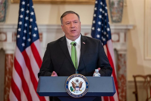 El secretario de Estado de EEUU, Mike Pompeo