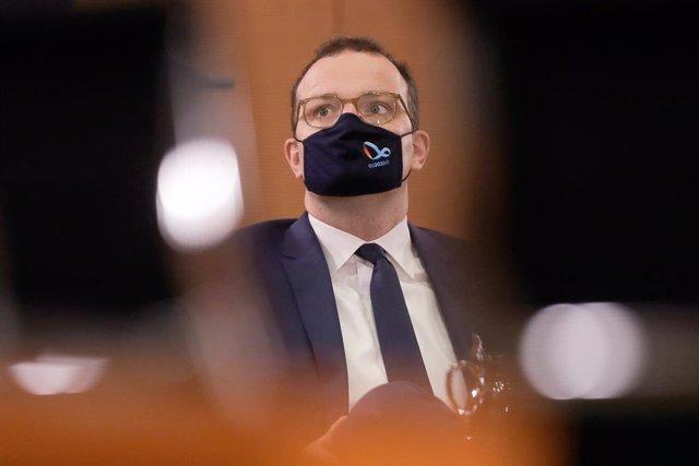 El ministro de Sanidad de Alemania, Jens Spahn, en una reunión del Gobierno en l