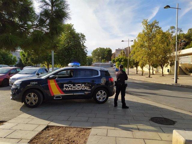 Control de la Policía en Alicante