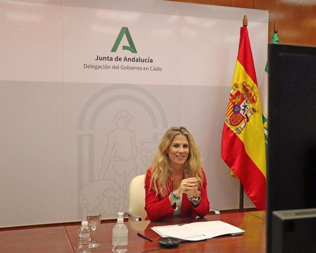 Ana Mestre, delegada de la Junta en Cádiz