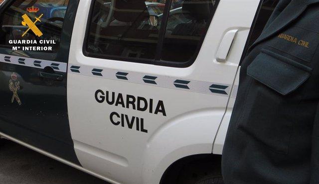 Coche de la Guardia Civil. Imagen de archivo.