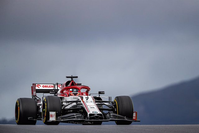 07 RAIKKONEN Kimi (fin), Alfa Romeo Racing ORLEN C39, action during the Formula