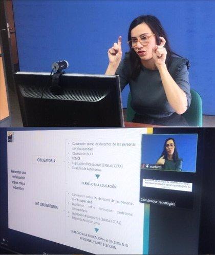La Confederación Estatal de Personas Sordas denuncia el aislamiento comunicativo que afecta al alumnado sordo