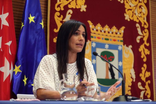 La vicealcaldesa de Madrid, Begoña Villacís. Archivo.