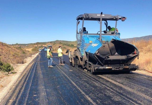 Obras de mejora en carreteras