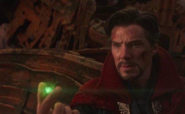 Benedict Cumberbatch es Doctor Strange en Vengadores: Endgame