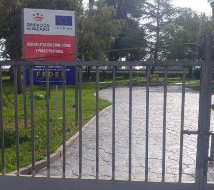La Diputación de Badajoz compra dos edificios en Montijo para una residencia de mayores y un punto de intermediación