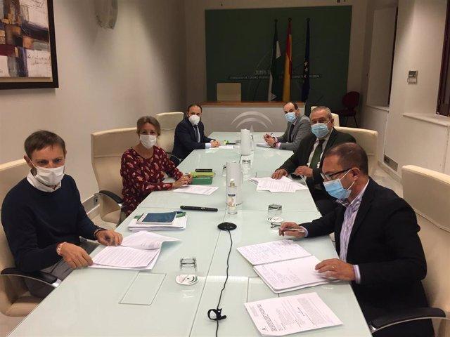 [Mediosandalucia1.Ctrjal] Justicia Y Cgpj Constituyen La Mesa De Coordinación De Prevención De Riesgos Laborales