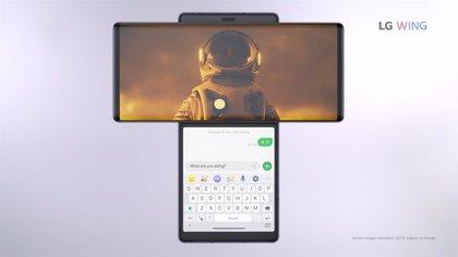"""LG WING llega a España: el 'smartphone' con pantalla giratoria con el que LG quiere """"revitalizar el mercado"""""""