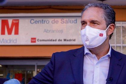 """Cepeda (PSOE) ve """"irresponsable"""" la gestión de Ayuso: """"¿Se le ocurrirá limitar movimientos por minutos en alguna calle?"""""""