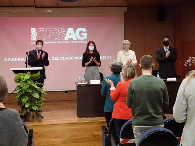 Inauguración del nuevo curso escolar en el Centro de Enseñanza Superior Alebrta Giménez (CESAG)