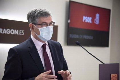 """El PSOE cree que Lambán demuestra que está al mando de un Gobierno """"sólido y con una hoja de ruta clara"""""""