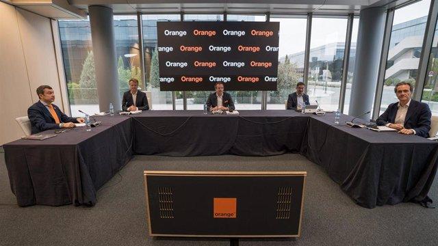Rueda de prensa de los resultados de Orange del tercer trimestre de 2020