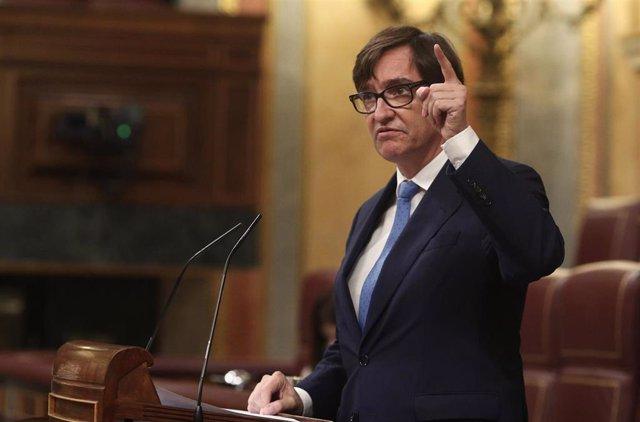 El ministro de Salud, Salvador Illa.